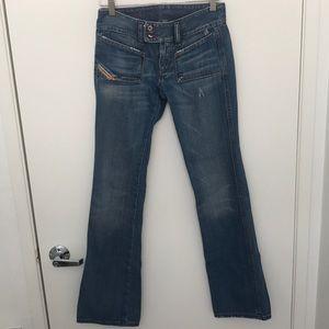 Diesel hush denim jeans sz 24